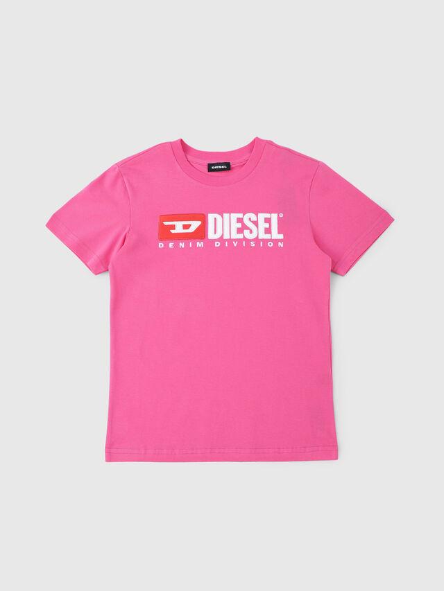 Diesel - TJUSTDIVISION, Fucsia - T-shirts e Tops - Image 1