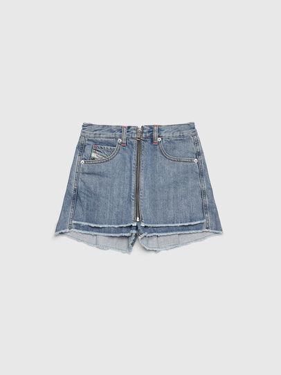 Diesel - PLARZY, Blu Chiaro - Shorts - Image 1
