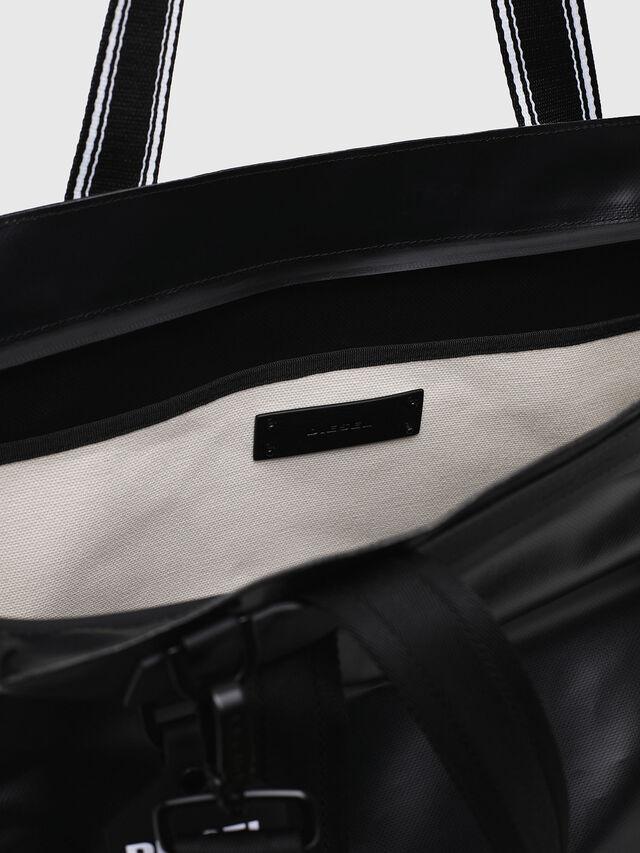 Diesel - F-CAORLY SHOPPER L, Nero/Bianco - Shopper e Borse a Spalla - Image 4
