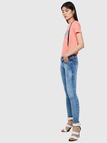 Diesel - Slandy Low 0095P, Blu Chiaro - Jeans - Image 5