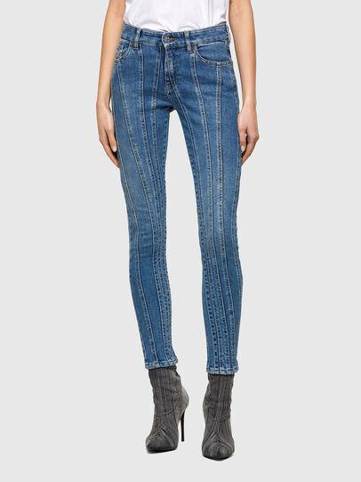 Diesel - Slandy 009QS, Blu Chiaro - Jeans - Image 1