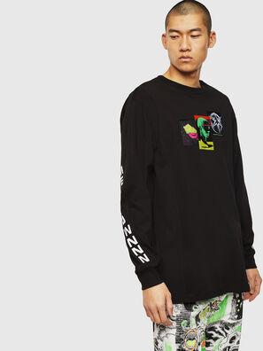 T-GLYNIS-J1, Nero - T-Shirts