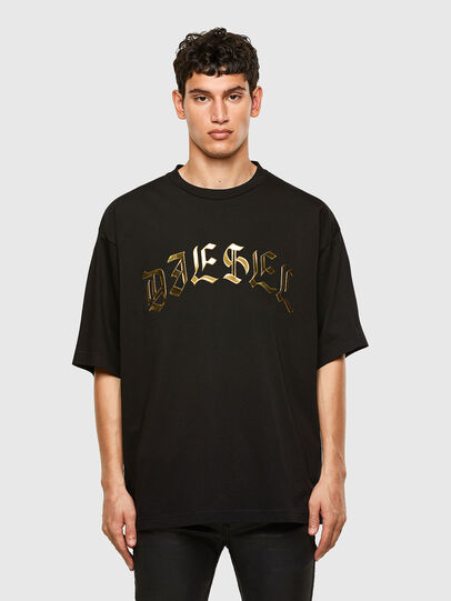 Diesel - T-BALL-A1, Nero - T-Shirts - Image 1