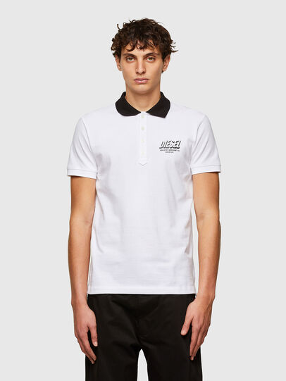 Diesel - T-RANDY-NEW-A1, Bianco - Polo - Image 1