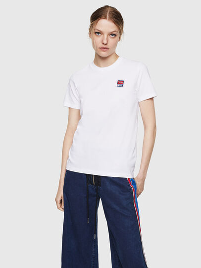 Diesel - T-SILY-ZE, Bianco - T-Shirts - Image 1