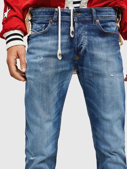 Diesel - Sleenker 069FY, Blu medio - Jeans - Image 3