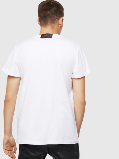 Diesel - LCP-T-DIEGO-NAIROBI, Bianco - T-Shirts - Image 3