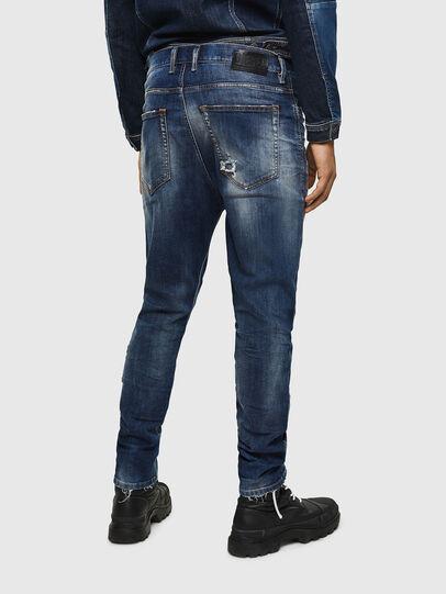 Diesel - D-Vider 0090G, Blu Scuro - Jeans - Image 2