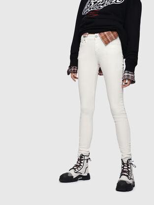 Slandy 086AD, Bianco - Jeans