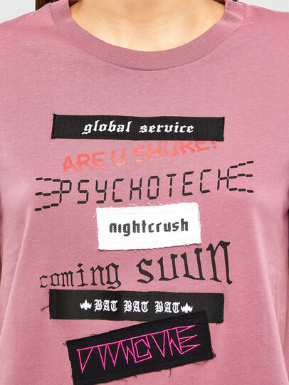 Diesel - T-SILY-V20, Rosa - T-Shirts - Image 4