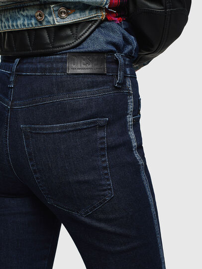 Diesel - Babhila 0096R, Blu Scuro - Jeans - Image 5