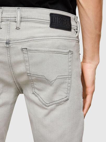 Diesel - Sleenker 009PY, Grigio Chiaro - Jeans - Image 4