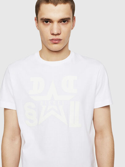 Diesel - T-DIEGO-A8, Bianco - T-Shirts - Image 3