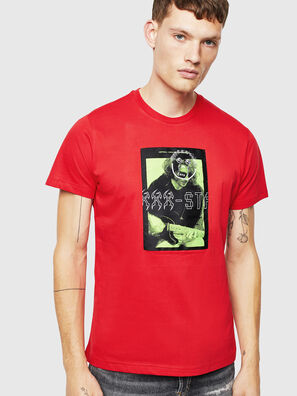 T-DIEGO-J1, Rosso - T-Shirts