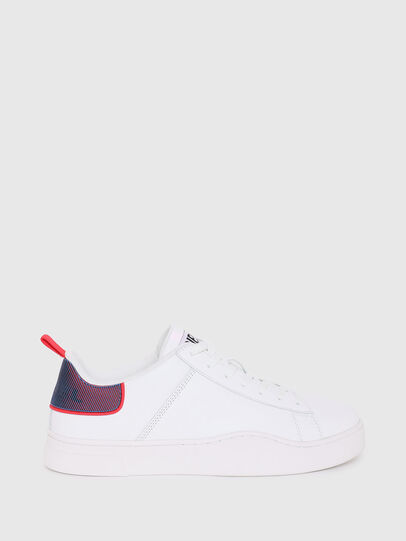 Diesel - S-CLEVER LOW LACE, Bianco/Rosso - Sneakers - Image 1