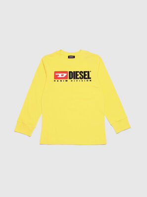 TJUSTDIVISION ML, Giallo - T-shirts e Tops