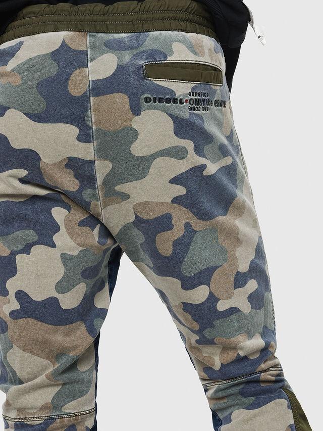 Diesel - D-Eeley JoggJeans 0GAUU, Verde Camo - Jeans - Image 4
