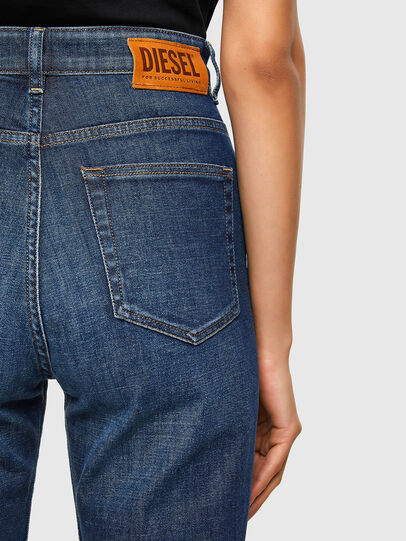 Diesel - D-Eiselle 009FN, Blu Scuro - Jeans - Image 4