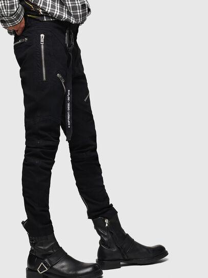 Diesel - P-VON, Nero - Pantaloni - Image 4