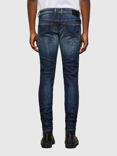 Diesel - Sleenker 0097L, Blu Scuro - Jeans - Image 2