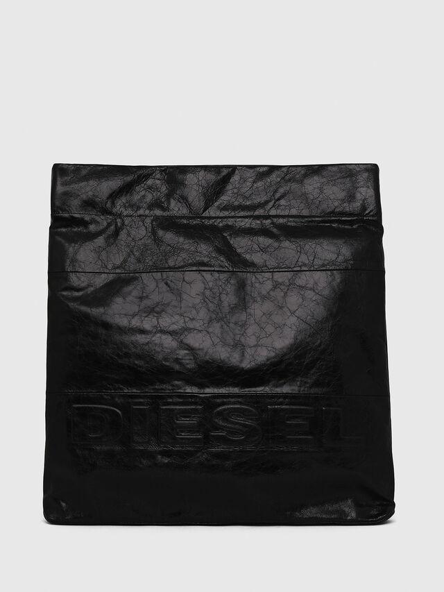 Diesel - F-LITT SHOPPER EW, Nero - Pochette - Image 1