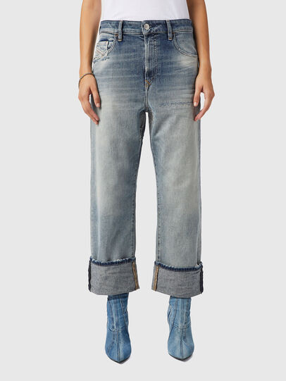 Diesel - D-Reggy 09B11, Blu Chiaro - Jeans - Image 1