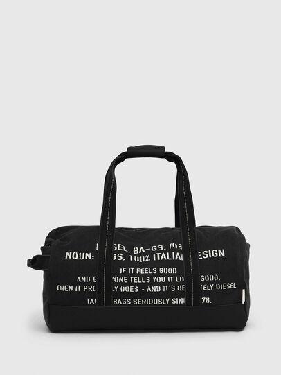Diesel - D-THISBAG TRAVEL BAG, Nero - Borse da viaggio - Image 1