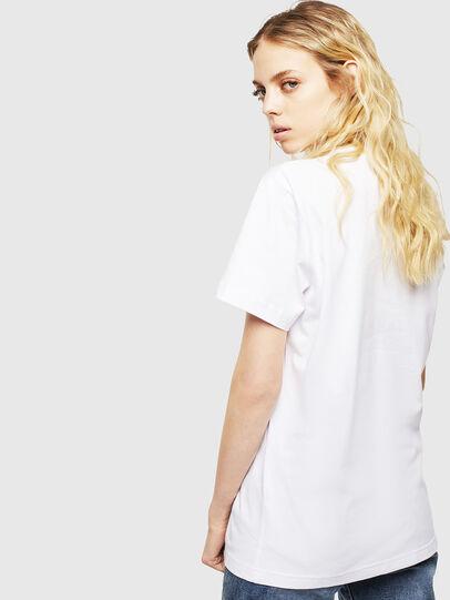 Diesel - T-DIEGO-CUTY, Bianco - T-Shirts - Image 4