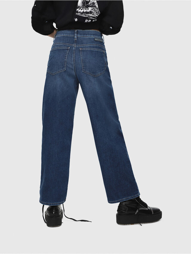 Diesel - Widee JoggJeans 080AR, Blu Scuro - Jeans - Image 2