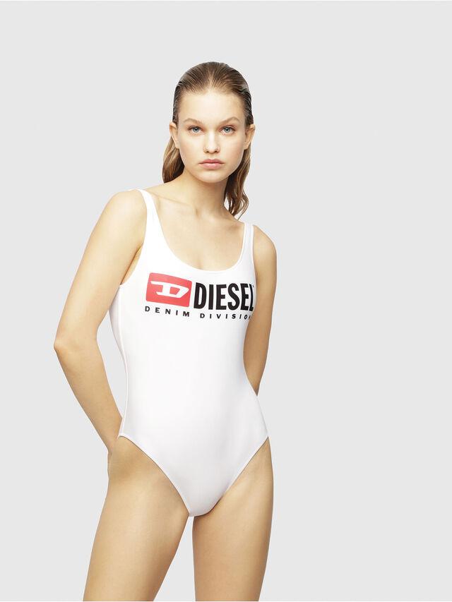 Diesel - BFSW-FLAMNEW, Bianco Vivo - Costumi - Image 1