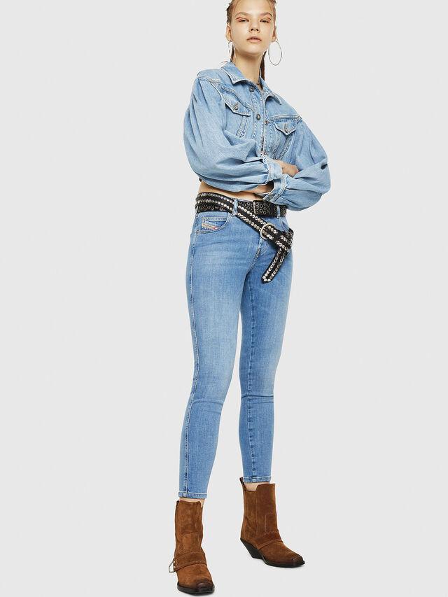 Diesel - Babhila 086AK, Blu Chiaro - Jeans - Image 6