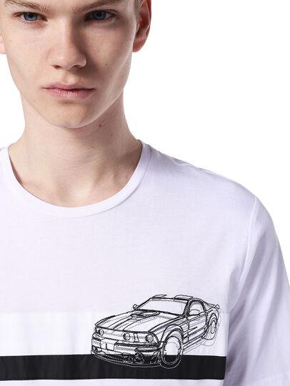 Diesel - TY-STRIPESCAR,  - T-Shirts - Image 3