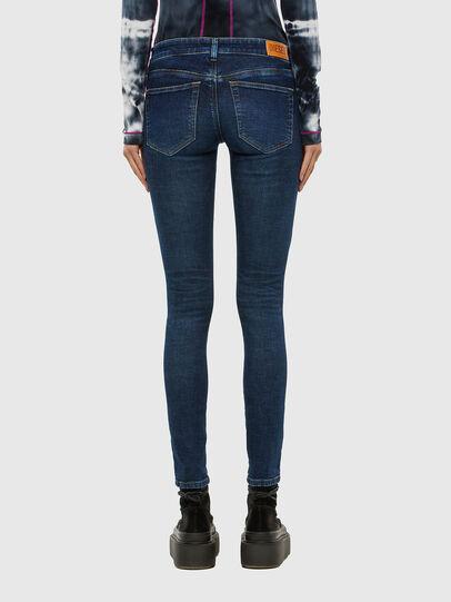 Diesel - Slandy Low 069PX, Blu Scuro - Jeans - Image 2
