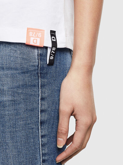 Diesel - T-SILY-S8, Bianco - T-Shirts - Image 5