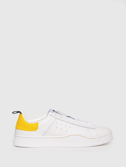 Diesel - S-CLEVER LOW, Bianco/Giallo - Sneakers - Image 1