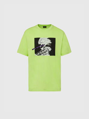 T-TUBOLAR-X20, Verde Fluo - T-Shirts