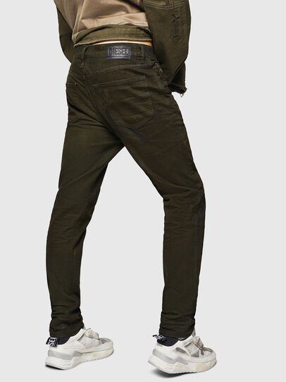 Diesel - Mharky 0078D, Verde Militare - Jeans - Image 2