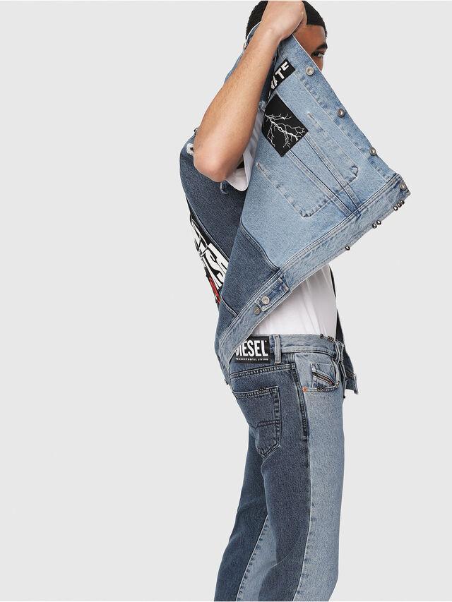 Diesel - Mharky 0077Z, Blu medio - Jeans - Image 3