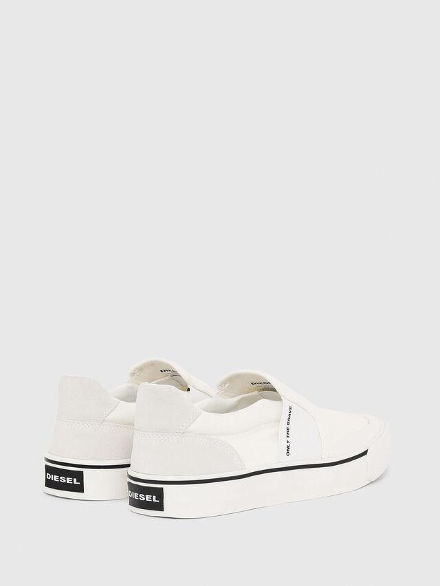 Diesel - S-FLIP SO, Bianco - Sneakers - Image 3