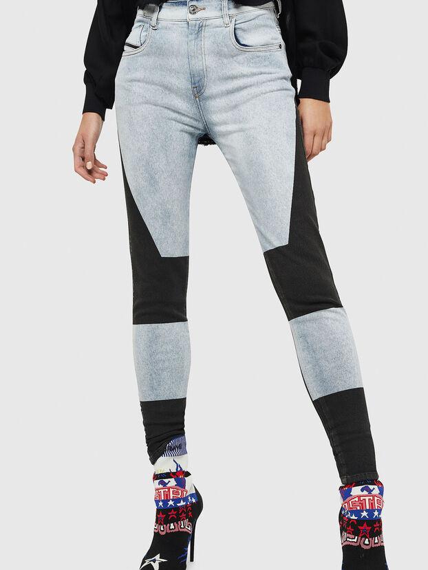 Slandy High 0890M, Blu Chiaro - Jeans
