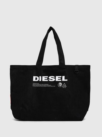 Diesel - D-THISBAG SHOPPER L, Nero - Shopper e Borse a Spalla - Image 1