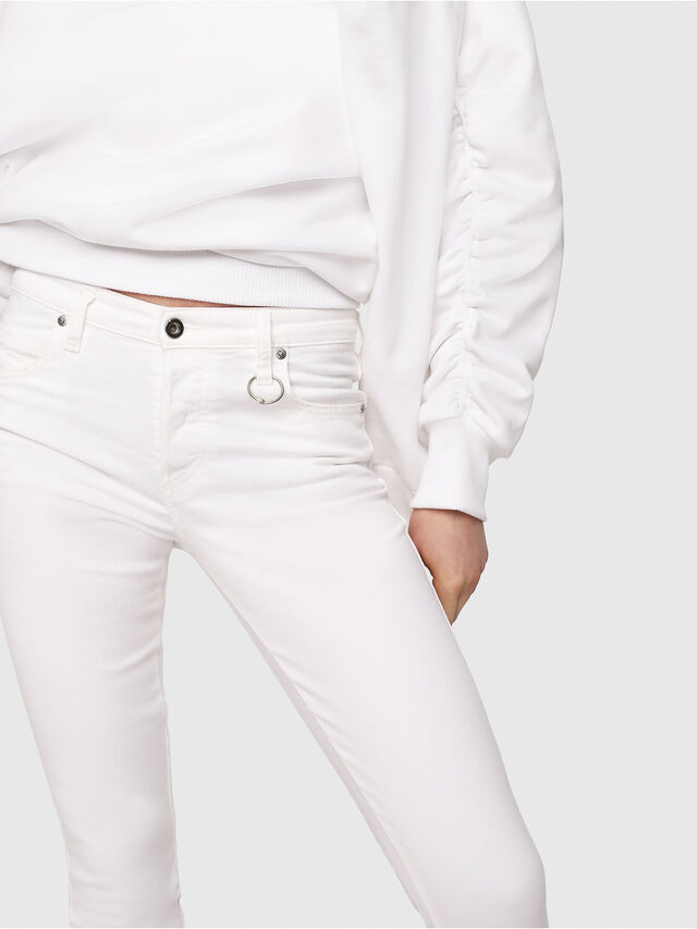 Diesel - Babhila 086AS, Bianco - Jeans - Image 3