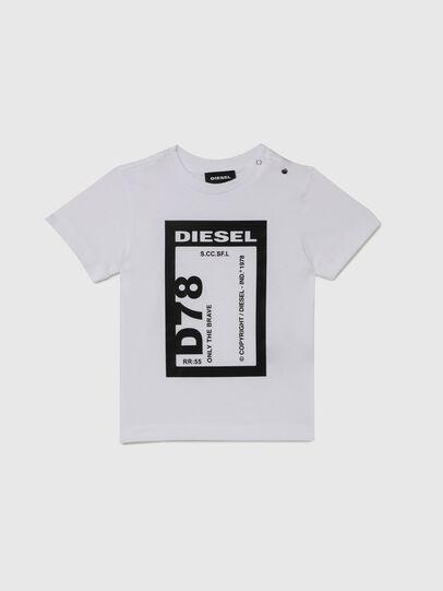Diesel - TFULL78B, Bianco - T-shirts e Tops - Image 1