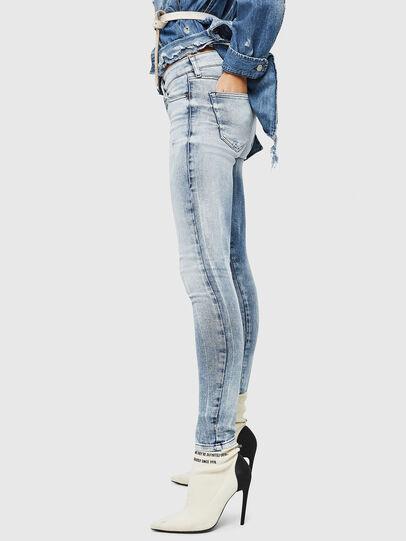 Diesel - Slandy 083AR, Blu Chiaro - Jeans - Image 4