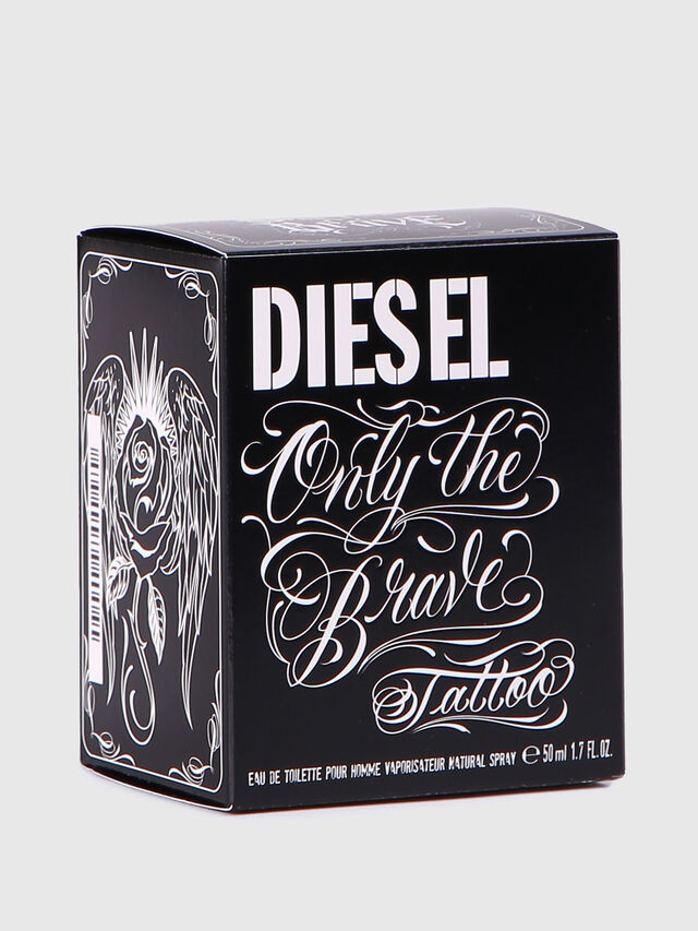 Diesel - ONLY THE BRAVE TATTOO 50 ML, Nero Brillante - Only The Brave - Image 4