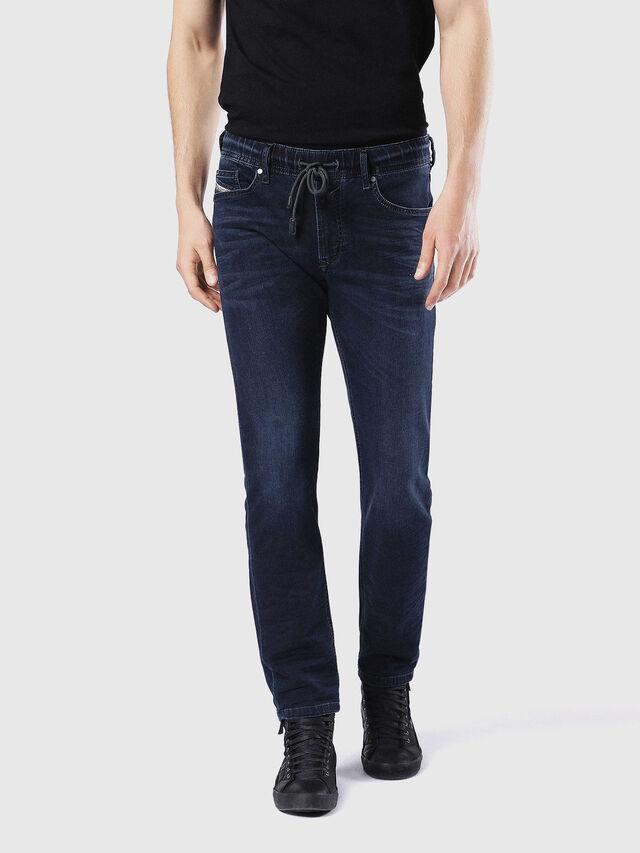 Diesel - Waykee JoggJeans 0842W, Blu Scuro - Jeans - Image 2