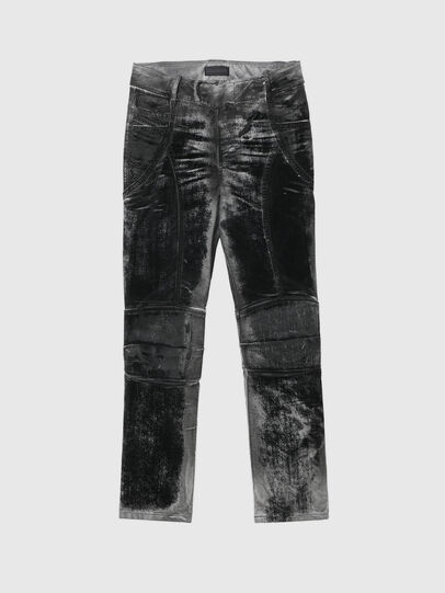 Diesel - TYPE-1007-NE, Nero/Grigio scuro - Jeans - Image 1