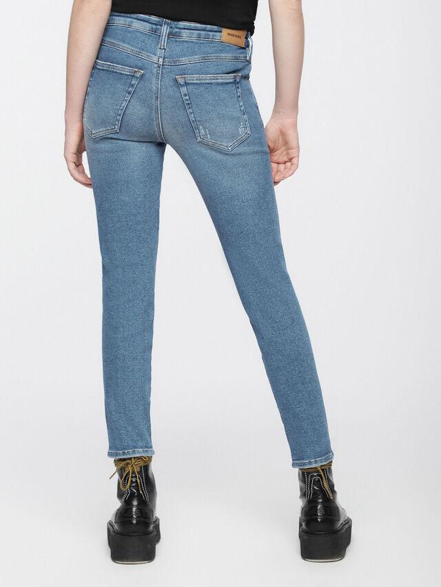 Diesel - Babhila 084WP, Blu Chiaro - Jeans - Image 3