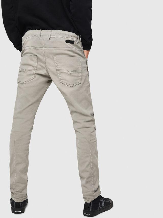 Diesel - Krooley JoggJeans 0670M, Grigio Chiaro - Jeans - Image 2