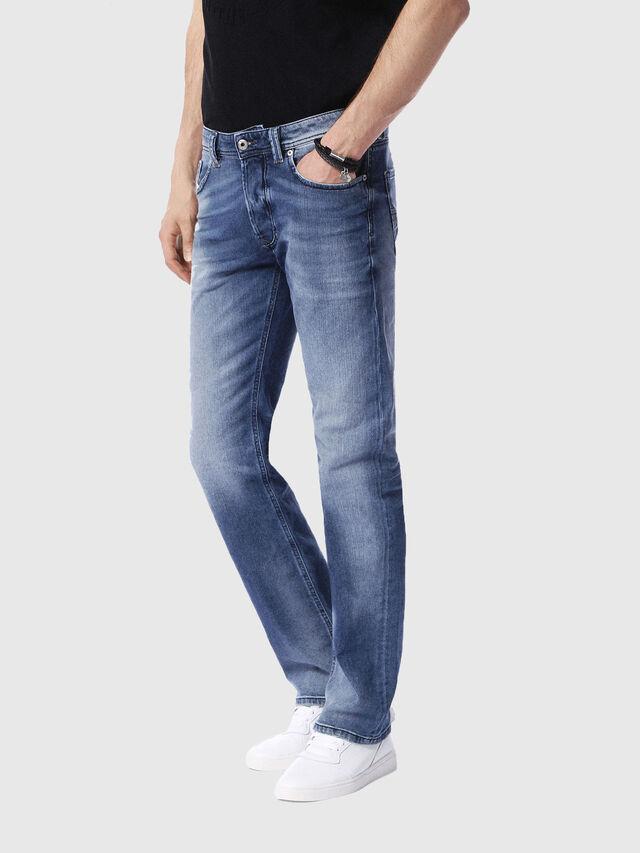 Diesel - Larkee 0853P, Blu Chiaro - Jeans - Image 4